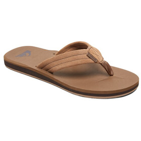 Quiksilver Carver Suede Sandaalit Miehet, solid tan